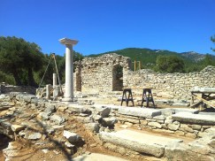 Aliki Archeological Site Thassos