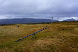 Abandoned swing West Iceland