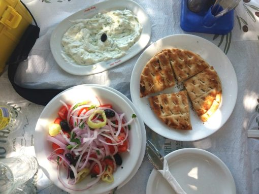 Beautiful Alice - Tzatziki, Greek Salad and Pita Bread