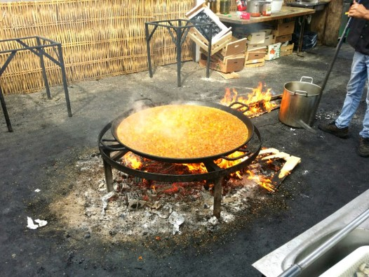 Cooking Paella
