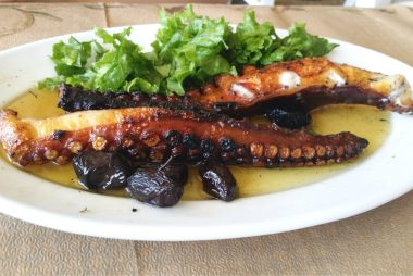 Leonidas - Dried and Grilled Octopus