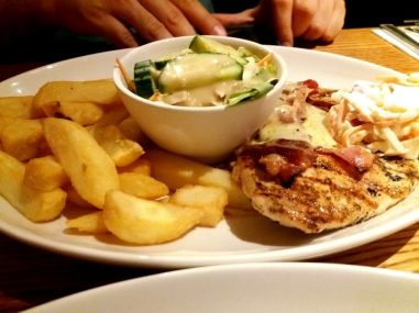 Smothered Chicken Melt - Beefeater, Horsham