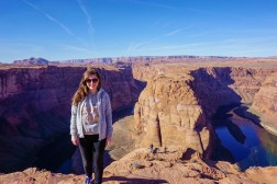 Tourist picture at Horseshoe Bend
