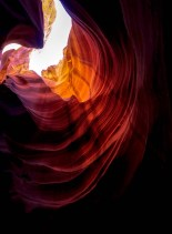 Upper Antelope Canyon shade