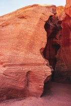 UpperAntelope Canyon end of fissure