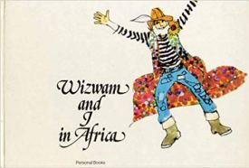 Wizwam and I in Africa personalised book