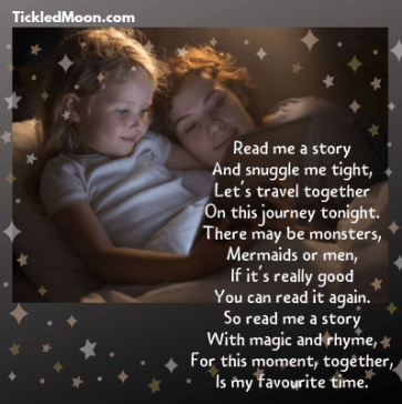 Read Me a Story poem by Tickled Moon