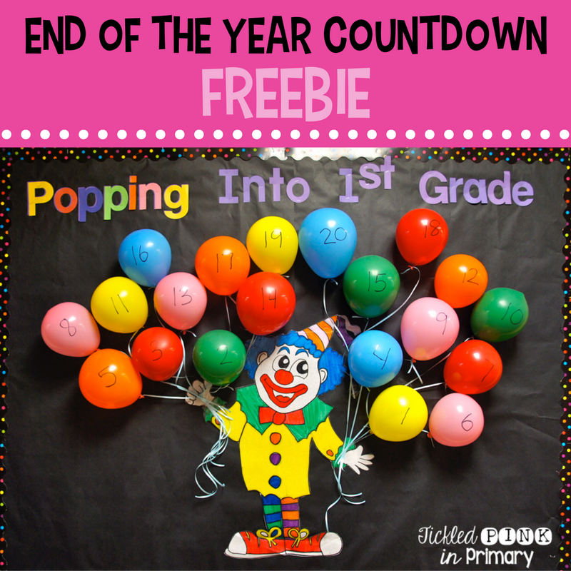 End of the Year Countdown Balloon Popping