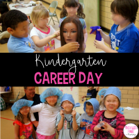Kindergarten Career Day with a FREE Writing Prompt
