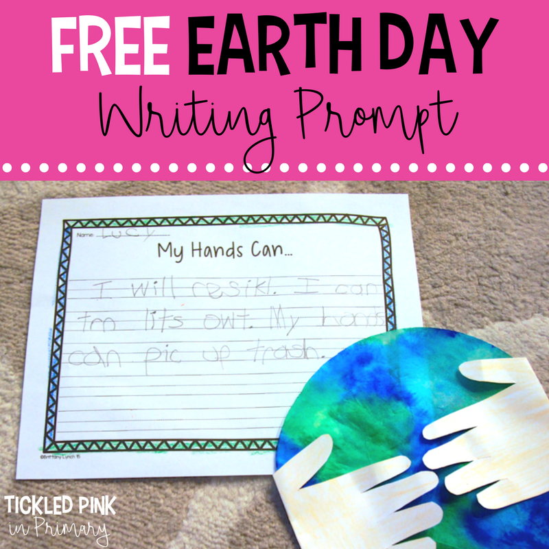 Earth Day Craft and FREE Writing Prompt