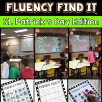 St. Patrick's Day Fluency Find It
