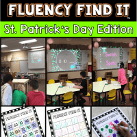 St. Patrick's Day Fluency Find It