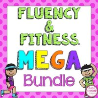 MEGA fluency and fitness brain breaks cover page