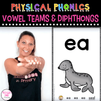 Physical Phonics Vowel Teams and Diphthongs – Multi-Sensory Learning