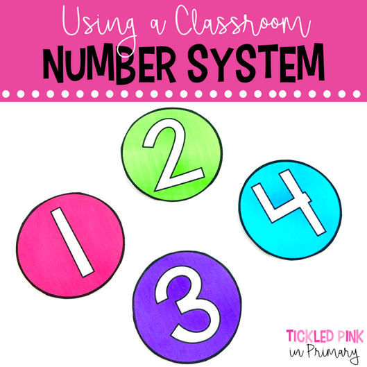 Classroom Number System - Back to School Teacher Tip