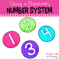 Classroom Number System – Back to School Teacher Tip