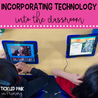 incorporating technology in the classroom ideas