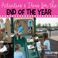 Find activities and ideas for the end of the school year. Click to learn more. #endofyear #endsofschoolyear #kindergarten #firstgrade