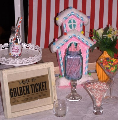 Willy Wonka Party Candy Table 5
