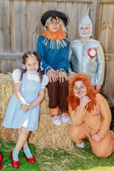 Wizard of oz party-kids