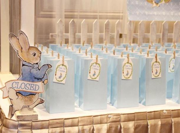 Peter Rabbit themed party Christening2