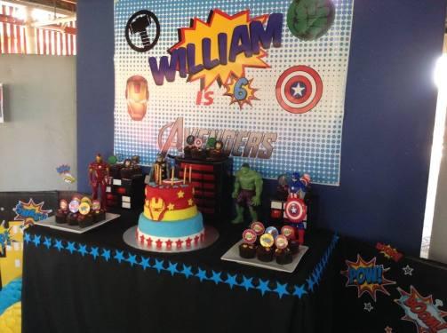 Avengers Superheros Party3