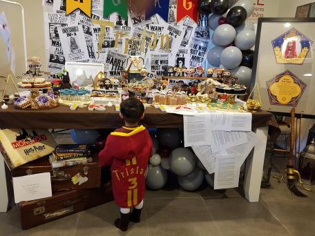 Harry Potter Birthday Party5