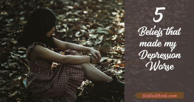 beliefs that made my depression worse 2