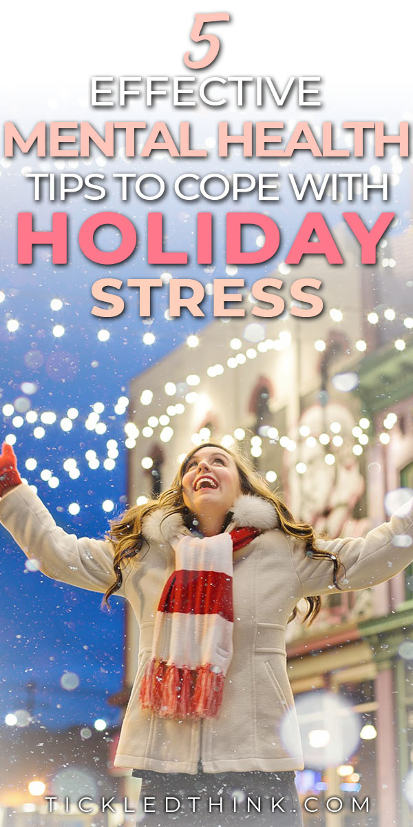 mental health tips to cope this holiday season