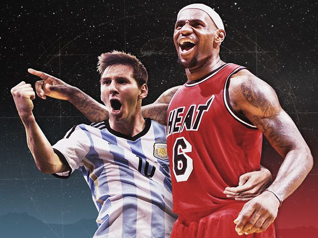 Lionel Messi LeBron James