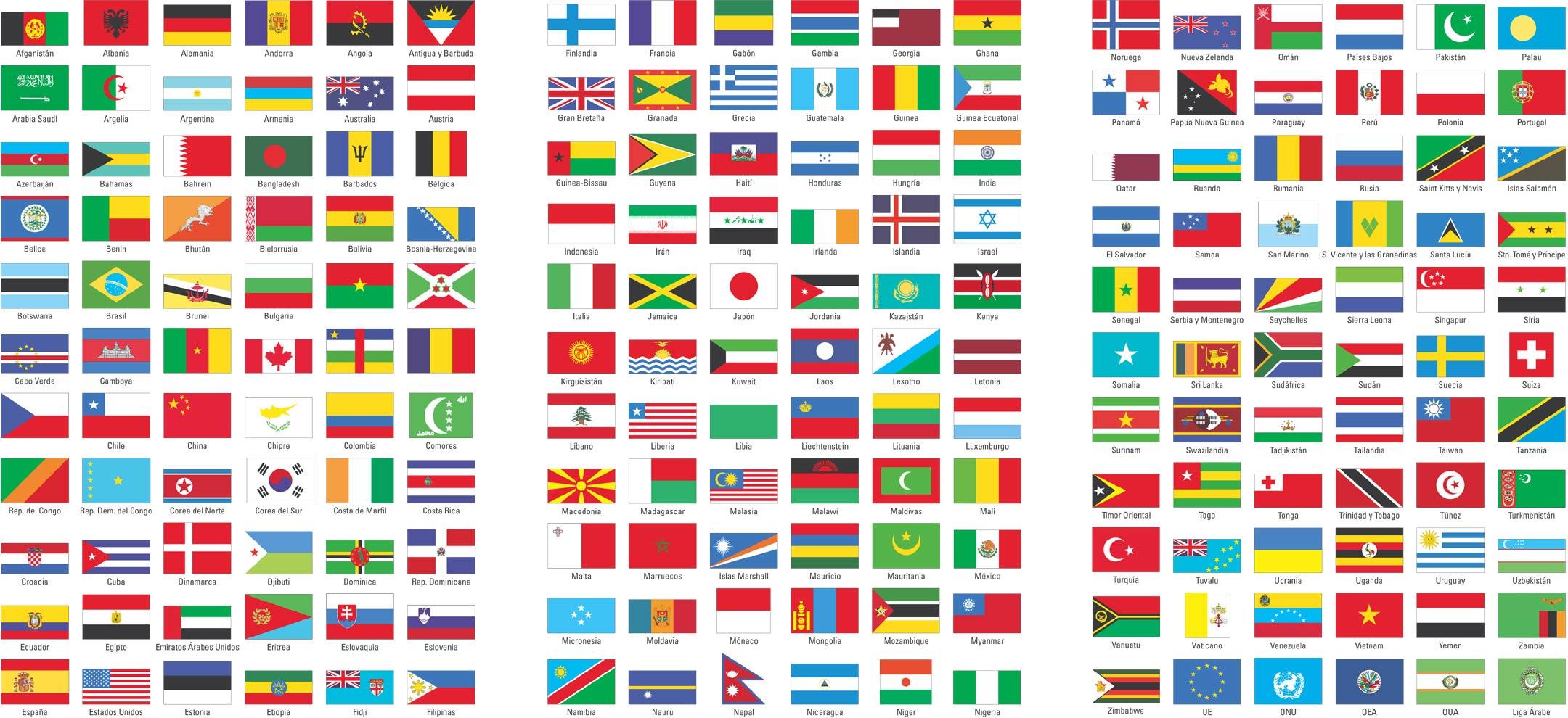 Banderas Del Mundo #infografia #infographic