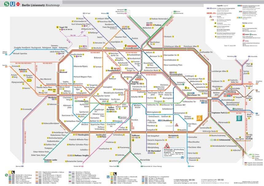Metro de Berlín / Berlin subway