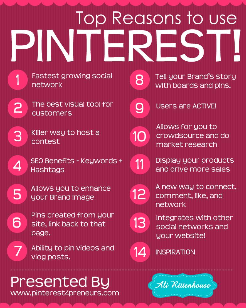 14 razones para usar Pinterest