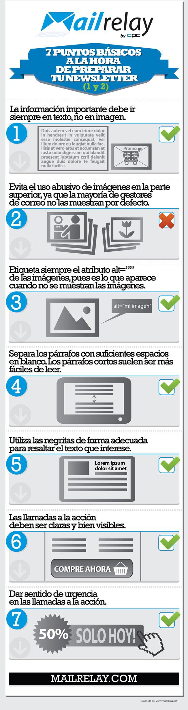 7 puntos básicos para tu newsletter