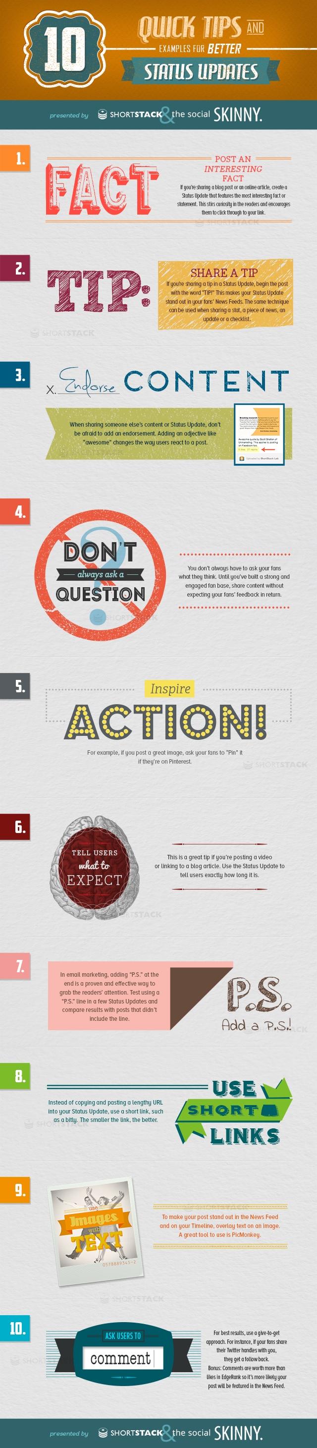 10 consejos para tus publicaciones en Redes Sociales