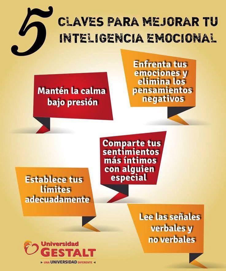5 claves para mejorar tu inteligencia emocional
