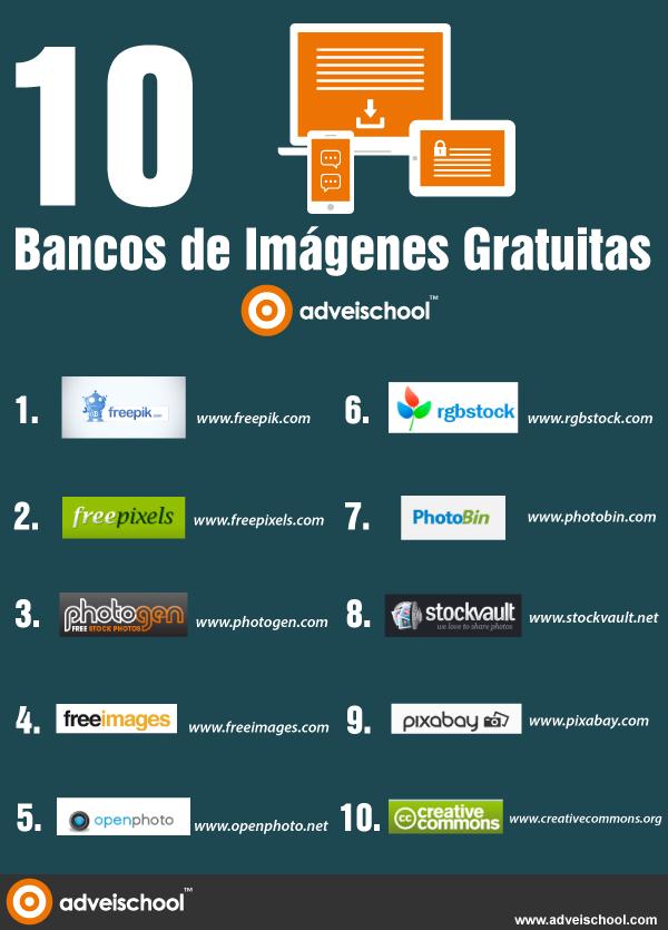 10 bancos de imágenes gratuitas
