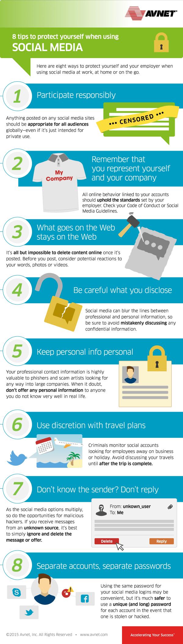 8 consejos sobre seguridad en Redes Sociales