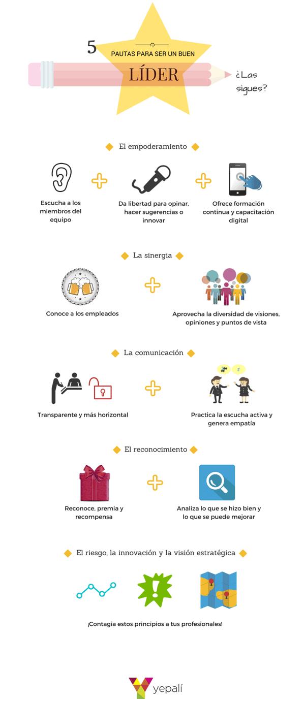5 pautas para ser un buen líder