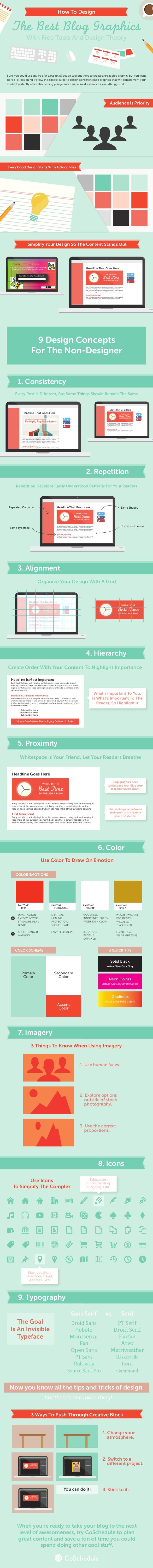 Cómo diseñar los mejores gráficos para tu Blog