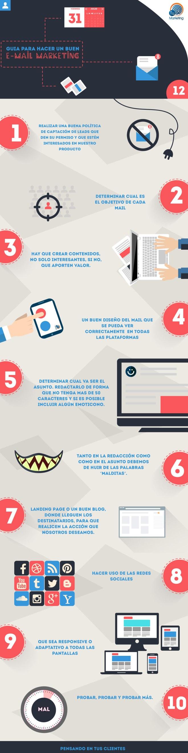 Guía para hacer buen Email Marketing