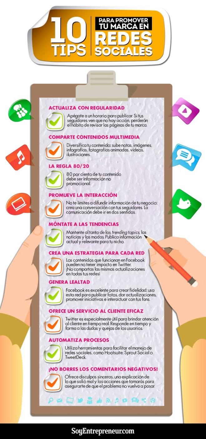 10 consejos para potenciar tu Marca en Redes Sociales