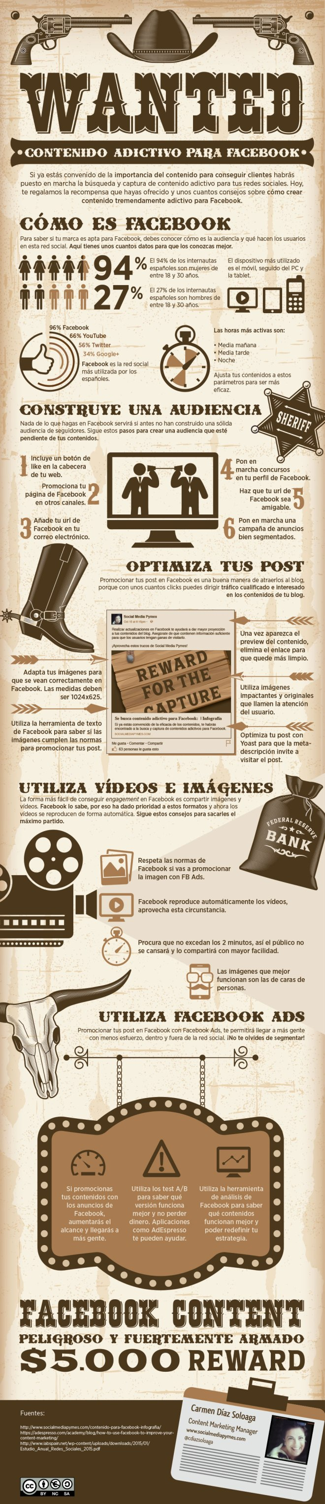 Se Busca: Contenido Adictivo para FaceBook