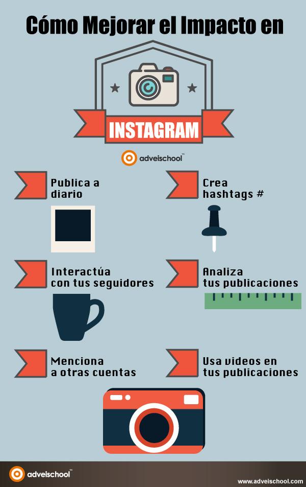 Cómo mejorar el impacto en Instagram