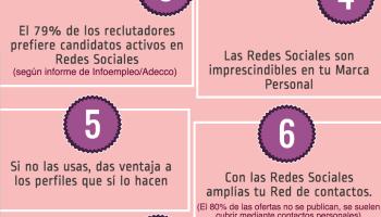 3af037ff36 10 razones para usar Redes Sociales para buscar trabajo  infografia   socialmedia  empleo