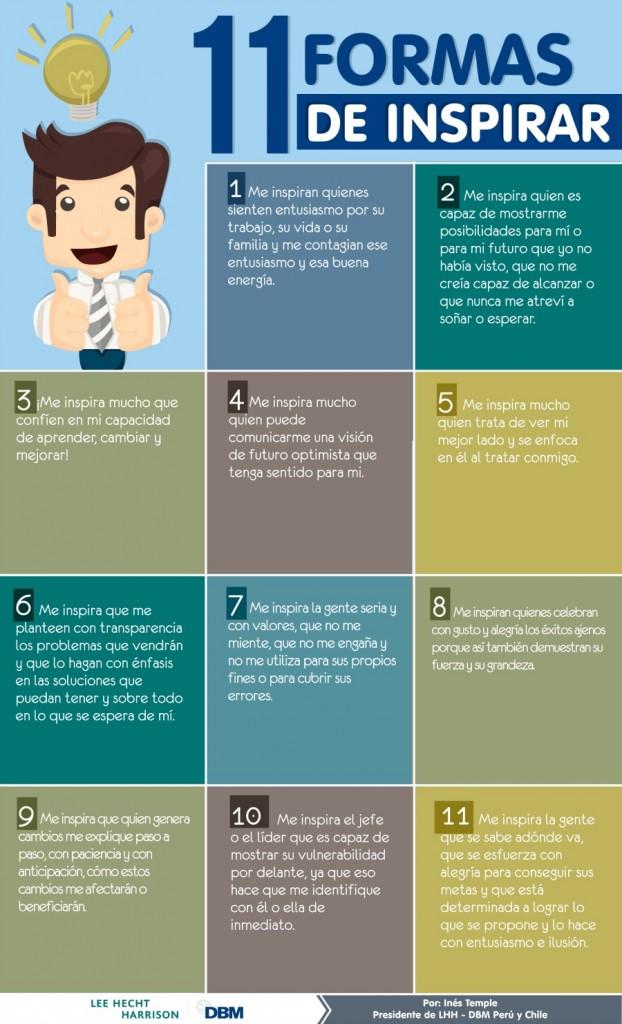 11 formas de inspirarte