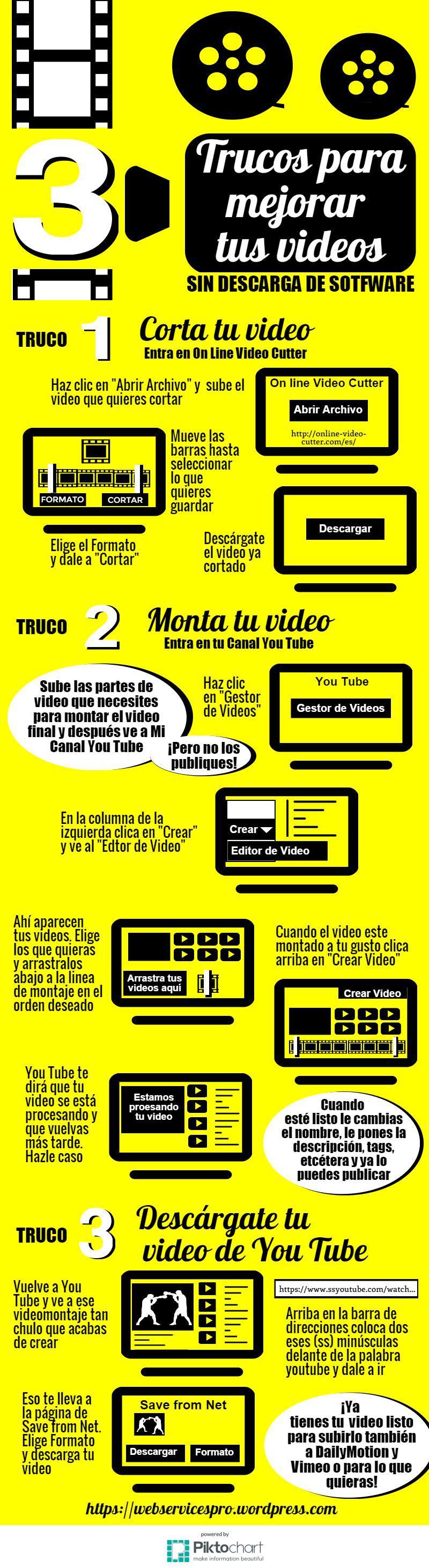 3 trucos para mejorar tus vídeos sin software