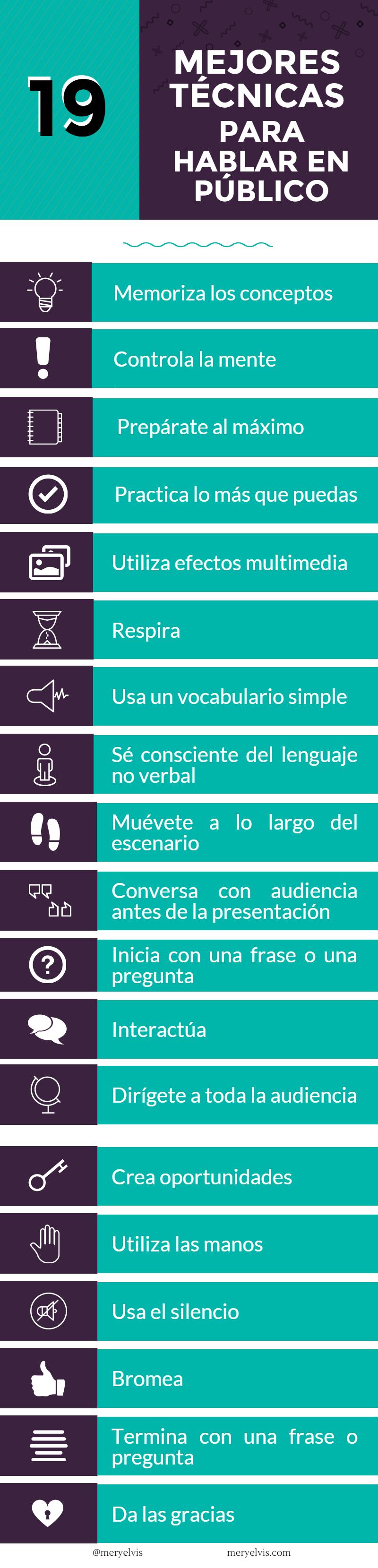 19 mejores técnicas para hablar en público