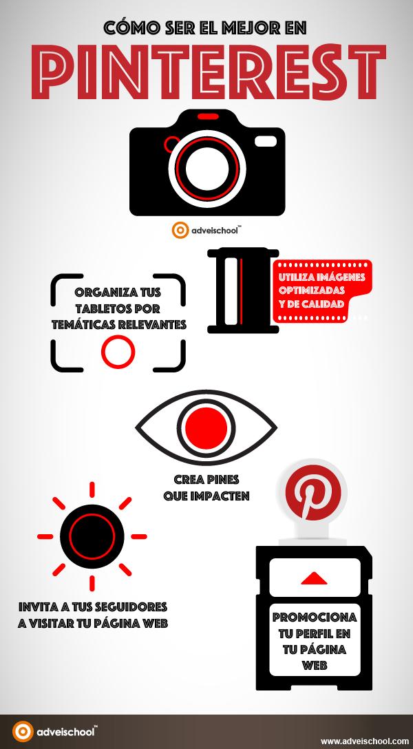Cómo ser el mejor en Pinterest
