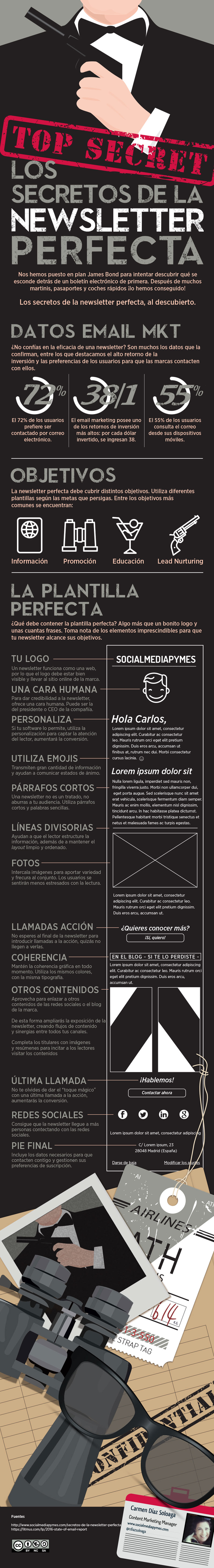 Los secretos de la NewsLetter perfecta